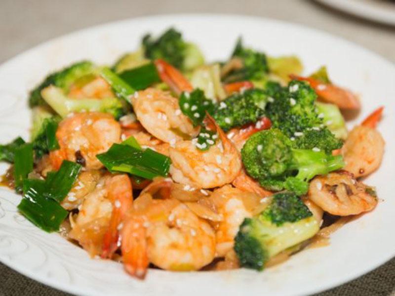 List of meals for dinner: Shrimp and Broccoli Stir-Fry