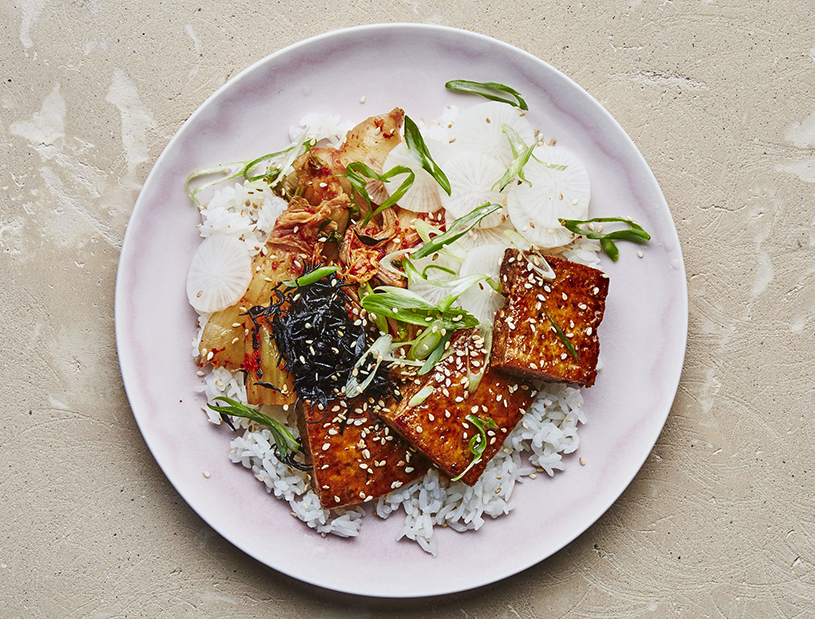 Easy college meals: Crispy Tofu With Maple Soy Glaze