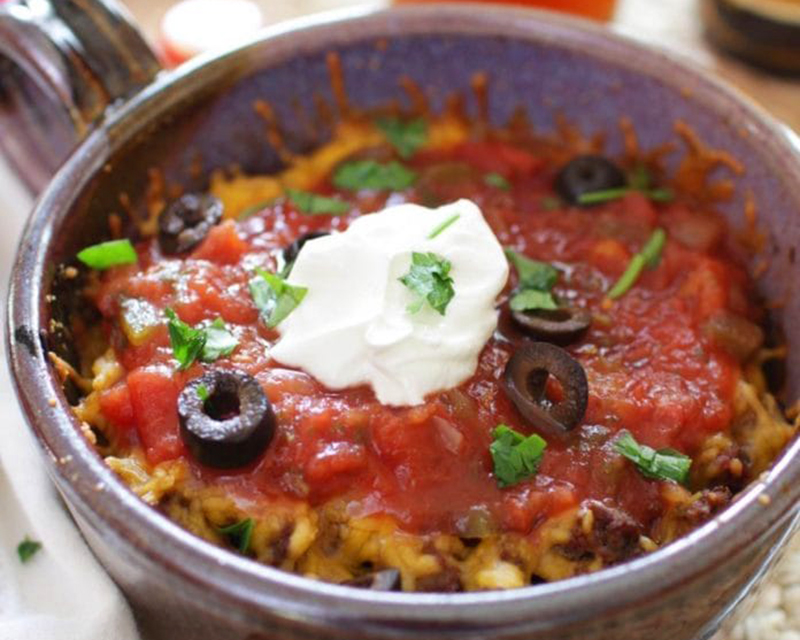 Easy college meals: Easy Taco Casserole