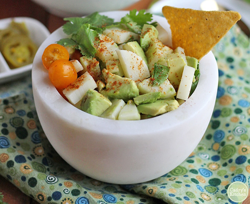 Easy college meals: Vegan Ceviche With Hearts of Palm