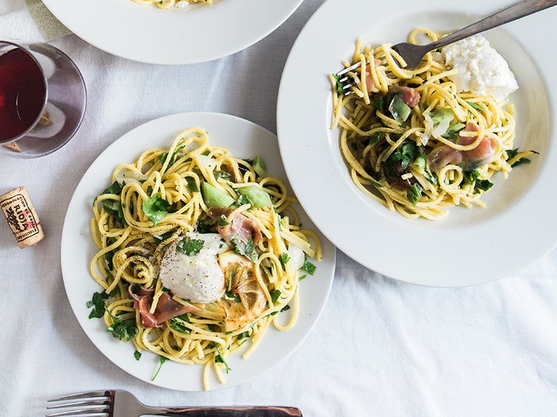 Easy meals for two on a budget: a pasta dish