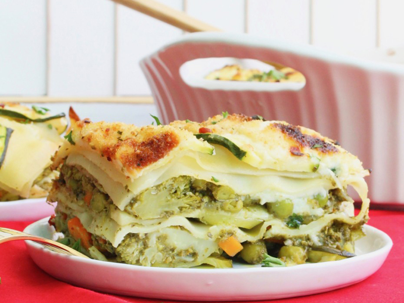 Easy meals for two on a budget: Green Vegetable Lasagna