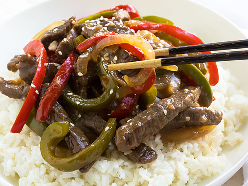 Easy meals for two on a budget: Chinese Pepper Steak