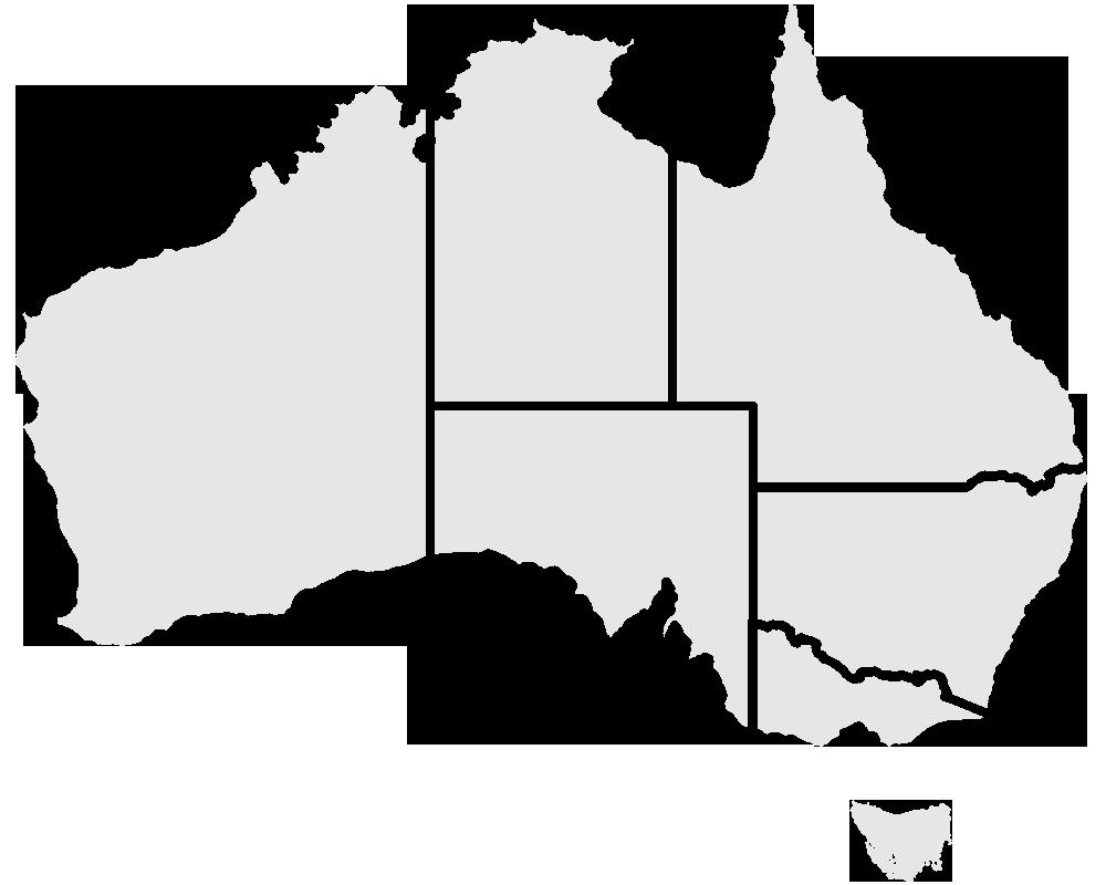 Interactive map of Australia