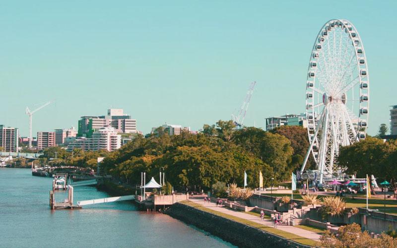 Picture of Brisbane ferris wheel