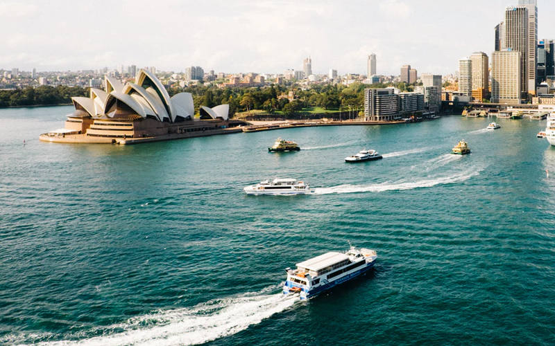 Picture of Sydney harbour