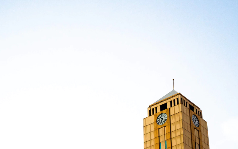 Picture of Australian clock tower