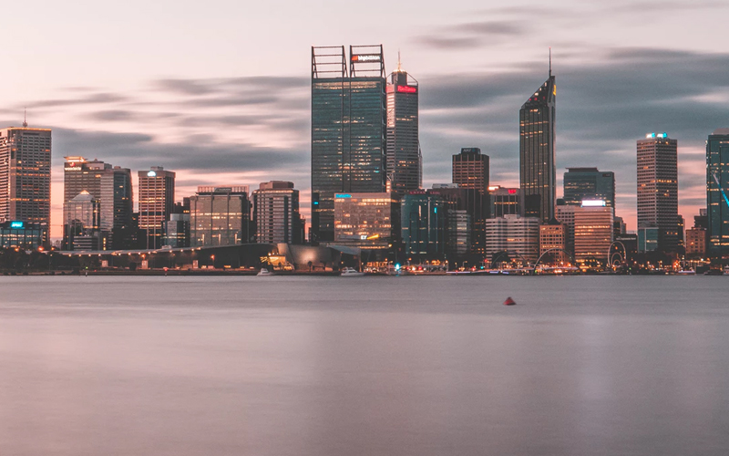 Picture of Perth skyline