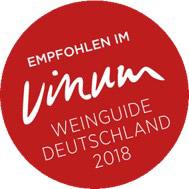 Auszeichnung vinum 2018