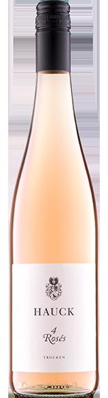 Weinhaus Hauck Roseflasche