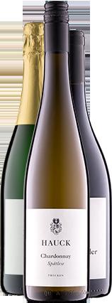 Weinhaus Hauck Weinflaschen Mix