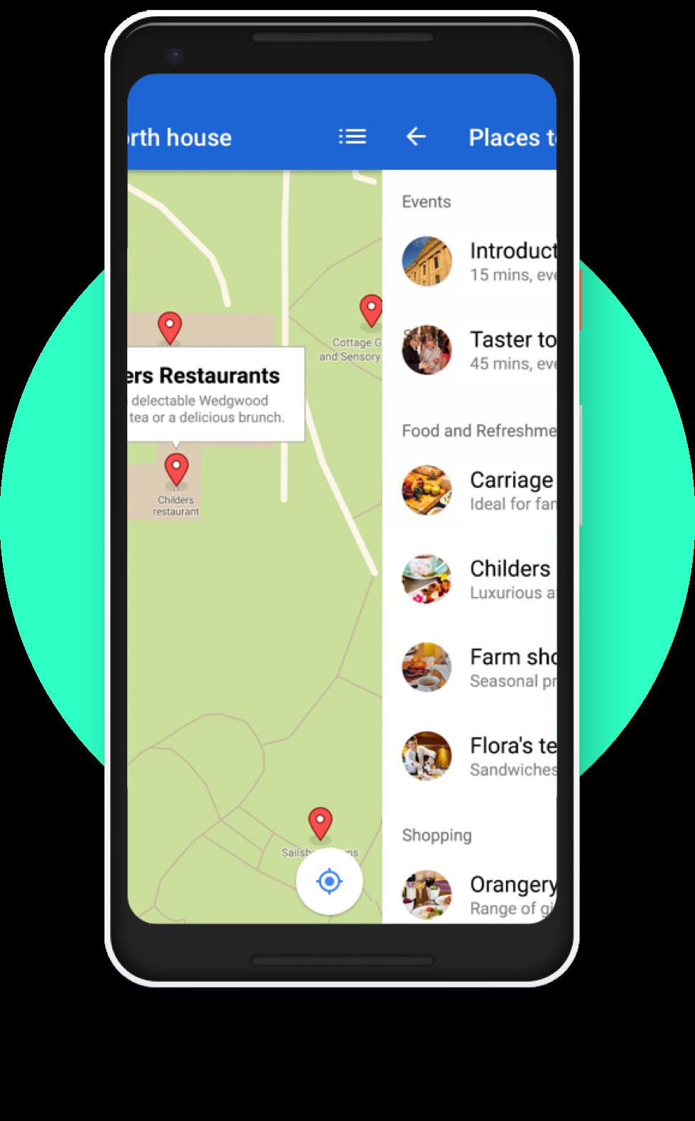 Gyder micro maps app