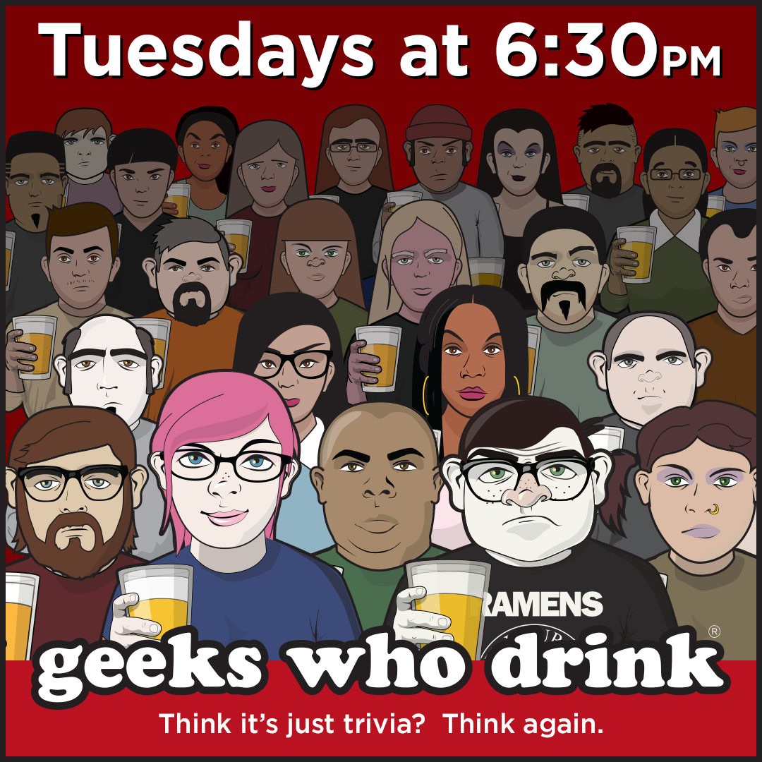 Geeks Who Drink Trivia Night