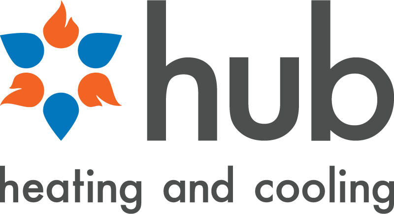 Hub Heating and Cooling logo