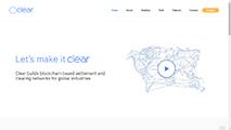 Clear website screenshot