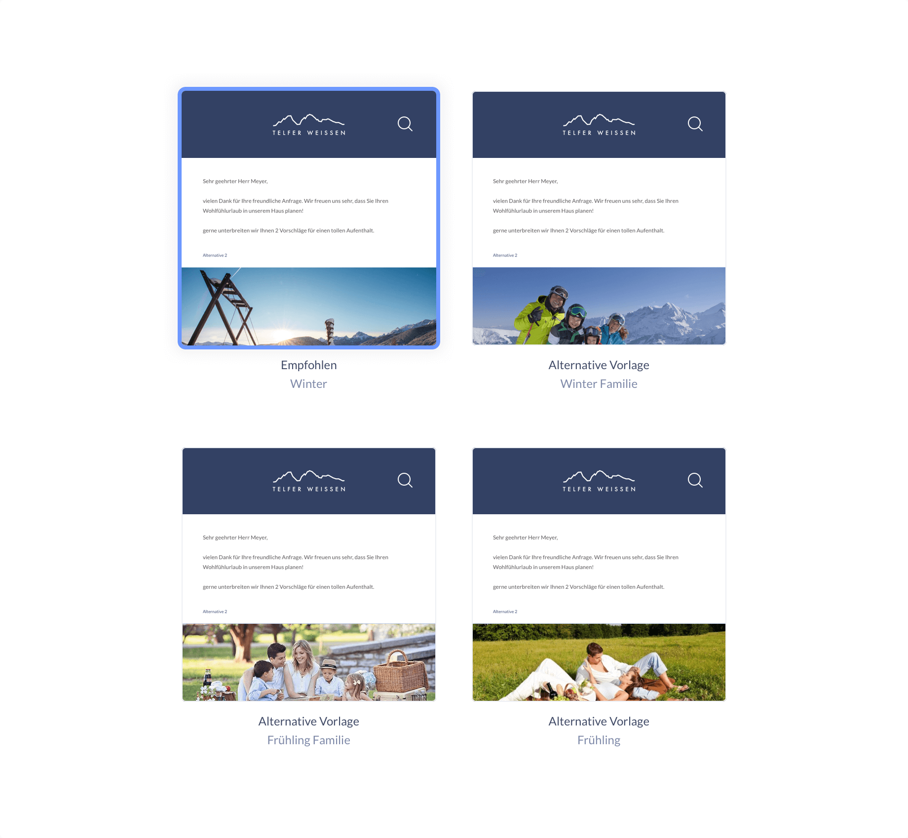 Offering templates image
