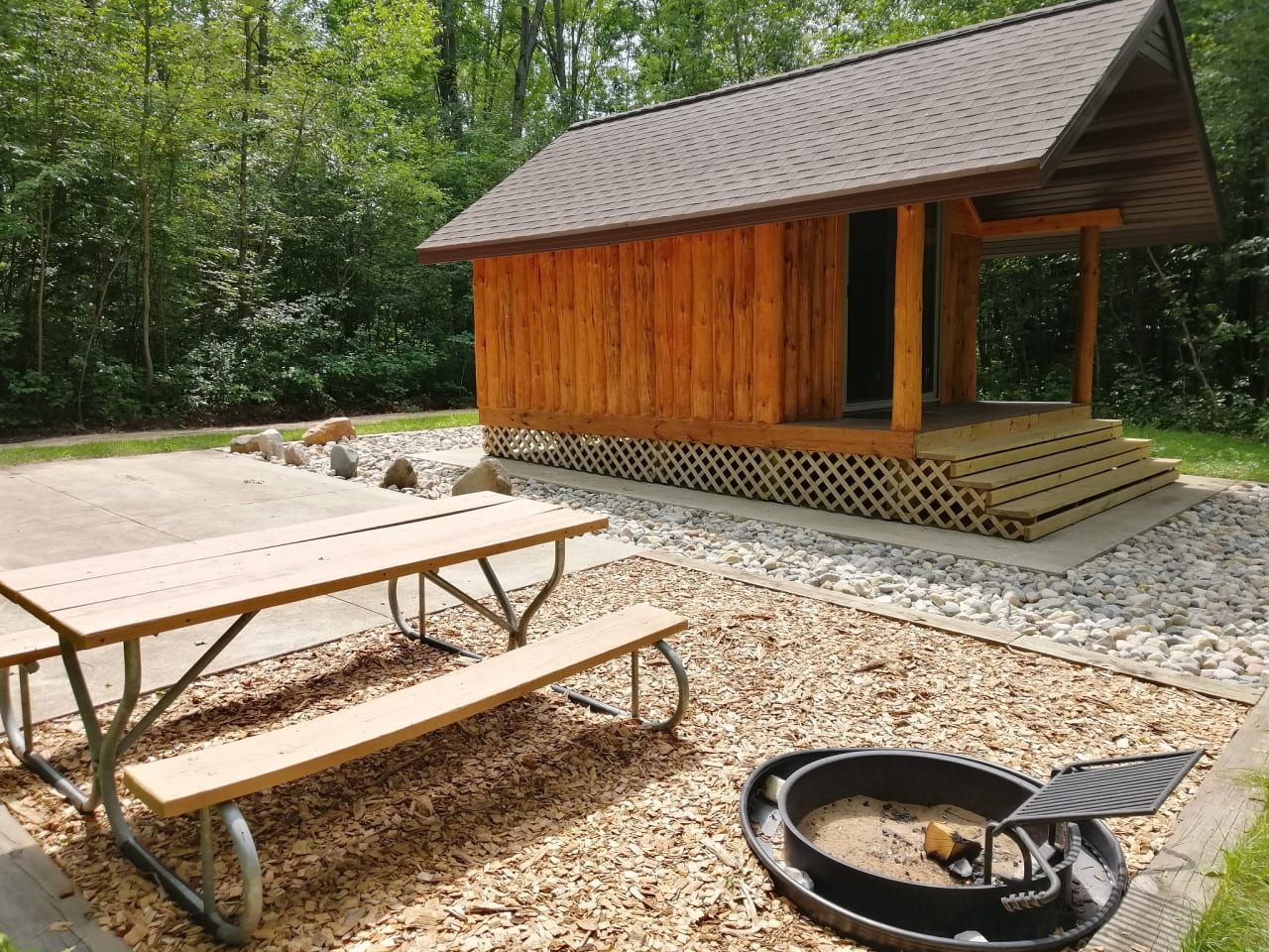 Photo of a  Camping Cabin at Pine River Paddlesports Campground