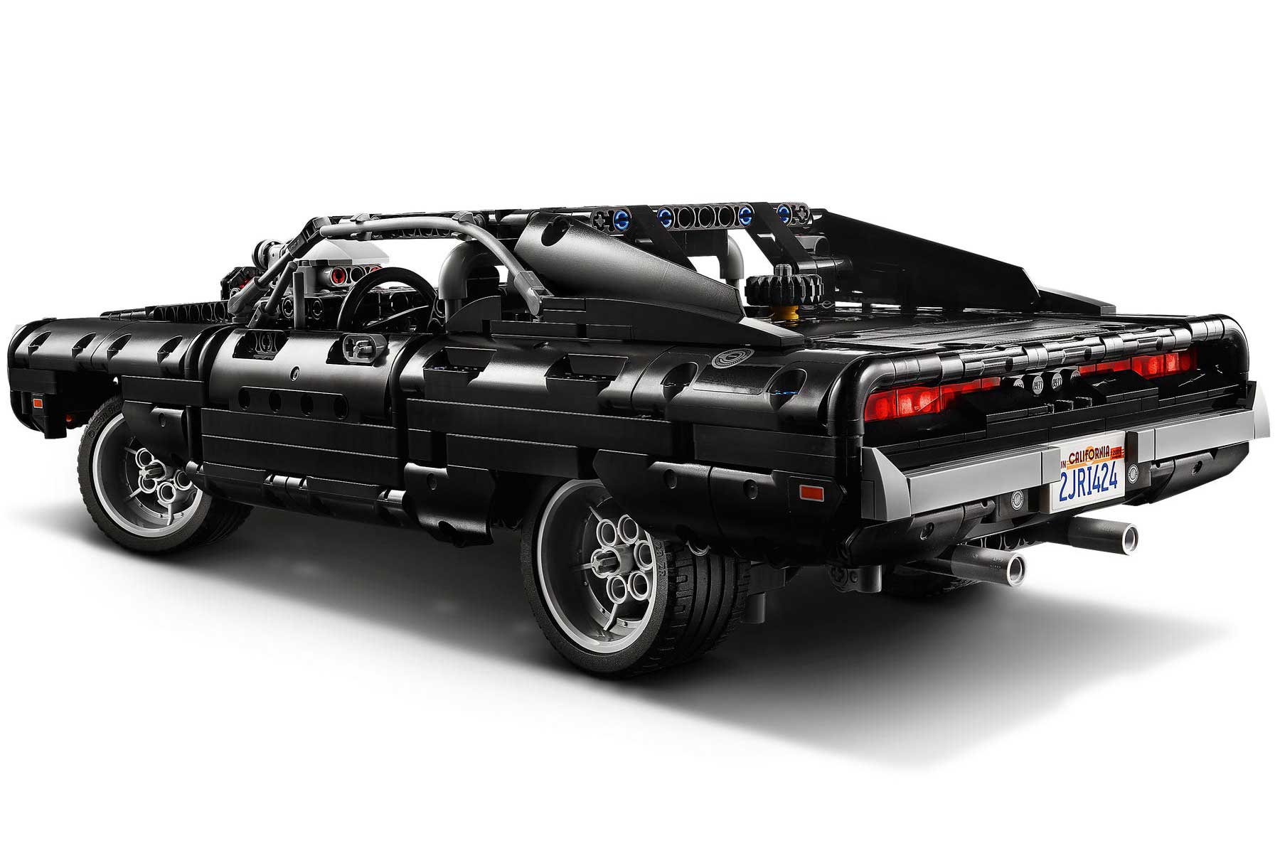 Dodge Charger fast and furious Dom lego technic