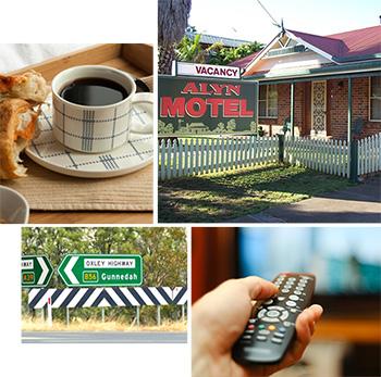 alyn motel breakfast gunnedah tv
