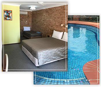 alyn motel room pool