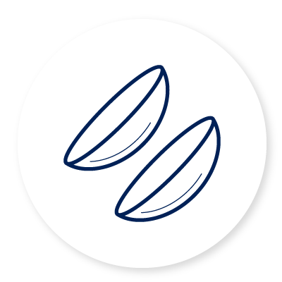 Contact lenses icon