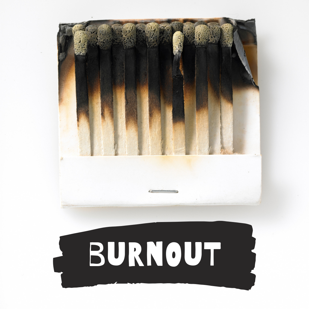 Image of burnt matches
