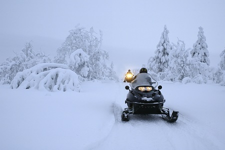 Snow Mobile Lapland