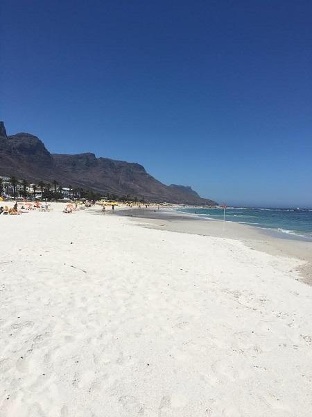 Madeleine Mayes White Beach Cape Town