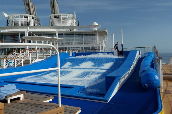 Symphony of the Seas Flow Rider
