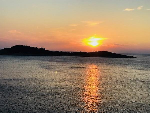 Tom Holland Croatia Sunset