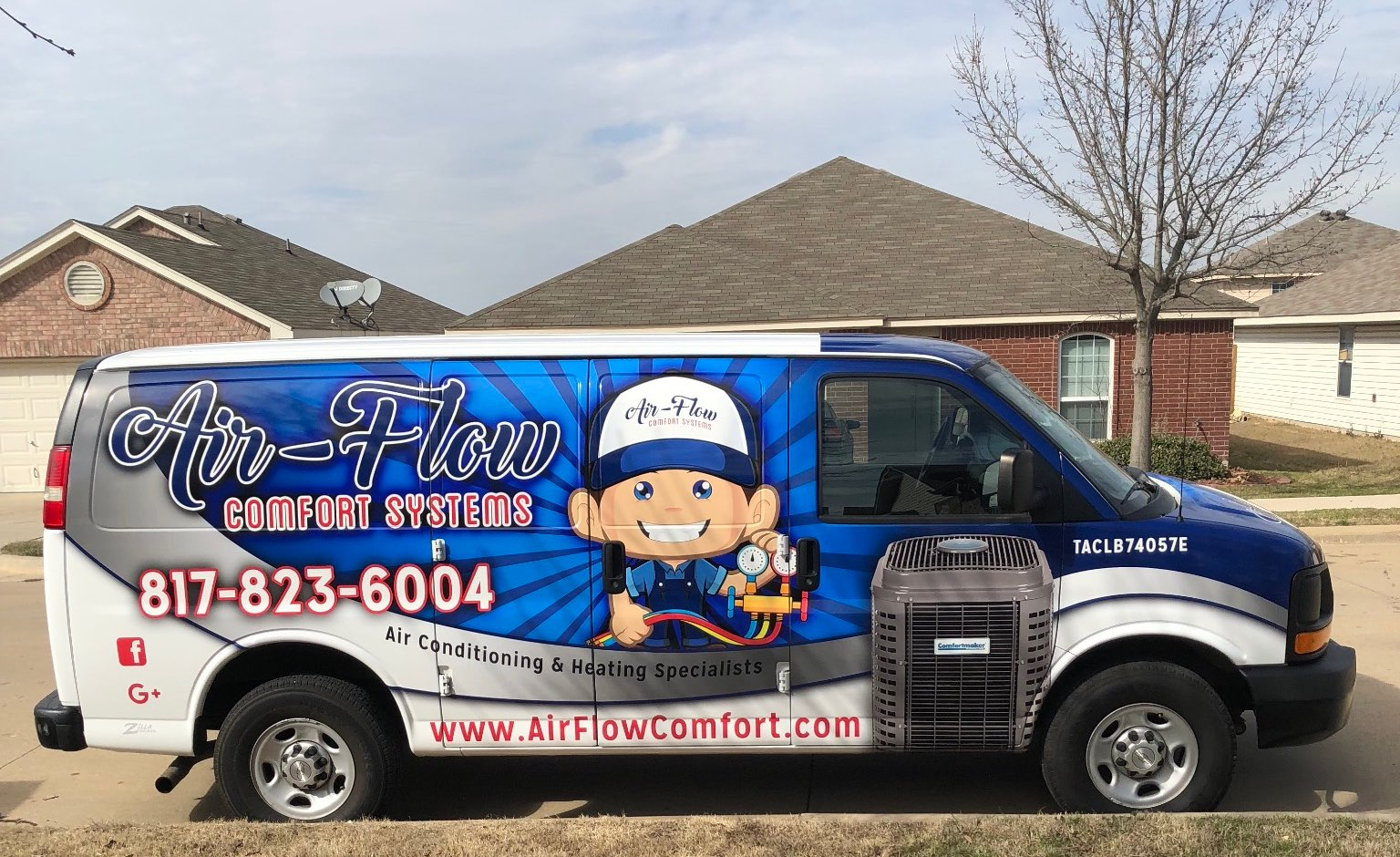 air-flow comfort systems service van