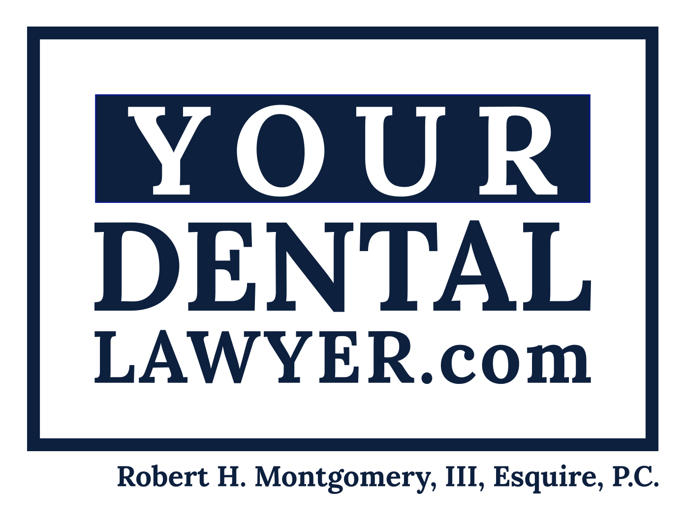 your dental lawyer logo