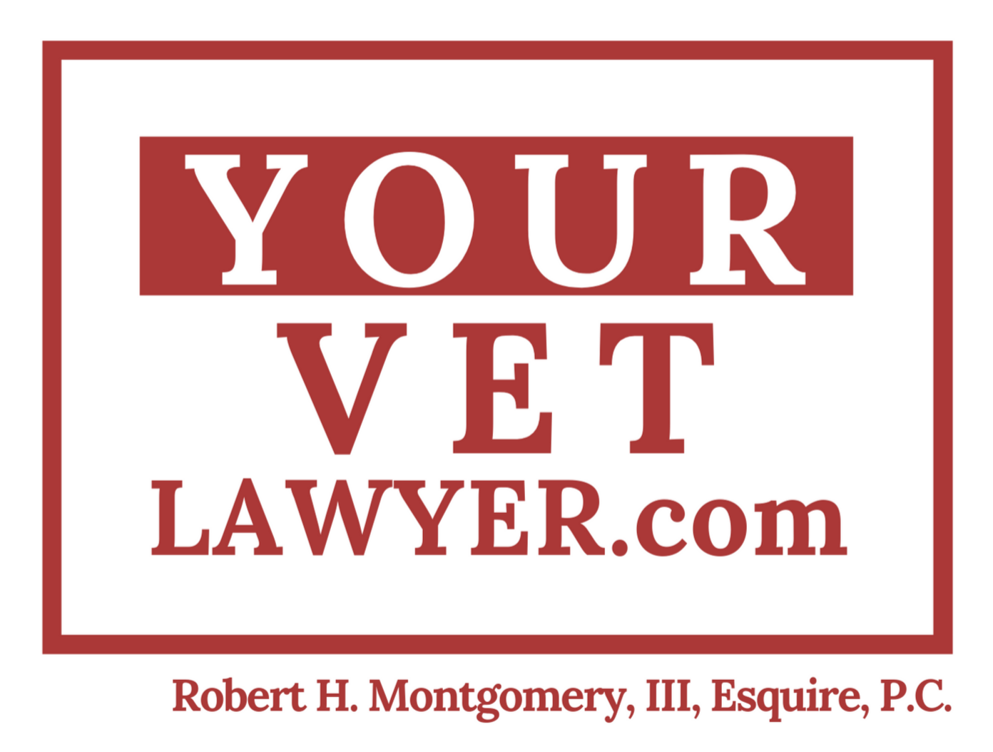your vet lawyer logo