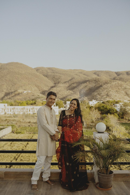 Zahida & Pramod: Pushkar, India