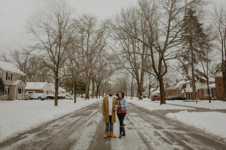 Mercedes & Damon: Winter Love Session