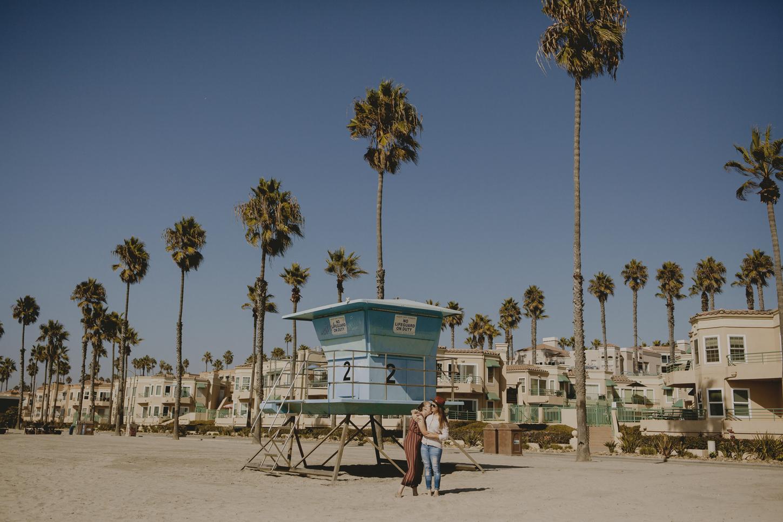 Jess & Darah: San Diego Beach Engagements