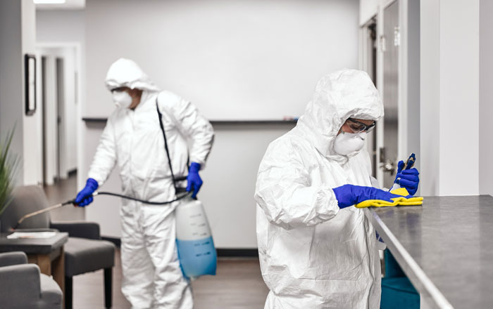 COVID-19 Commercial Decontamination and Preventative Disinfecting