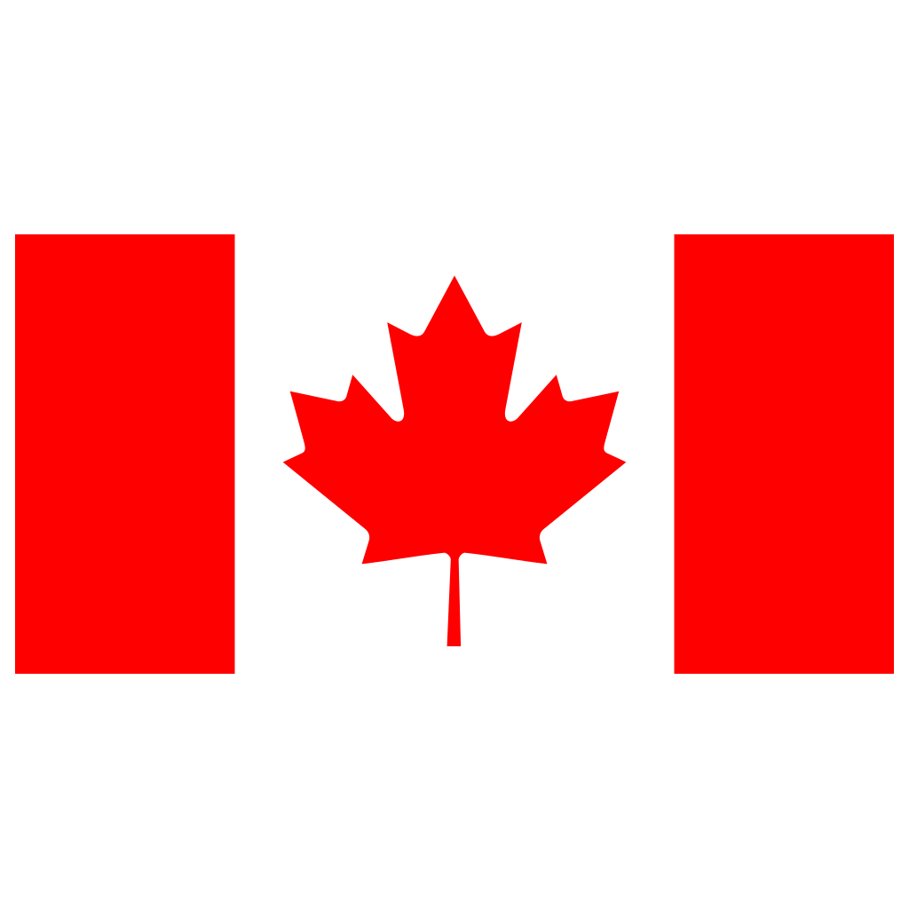 A Canadian flag
