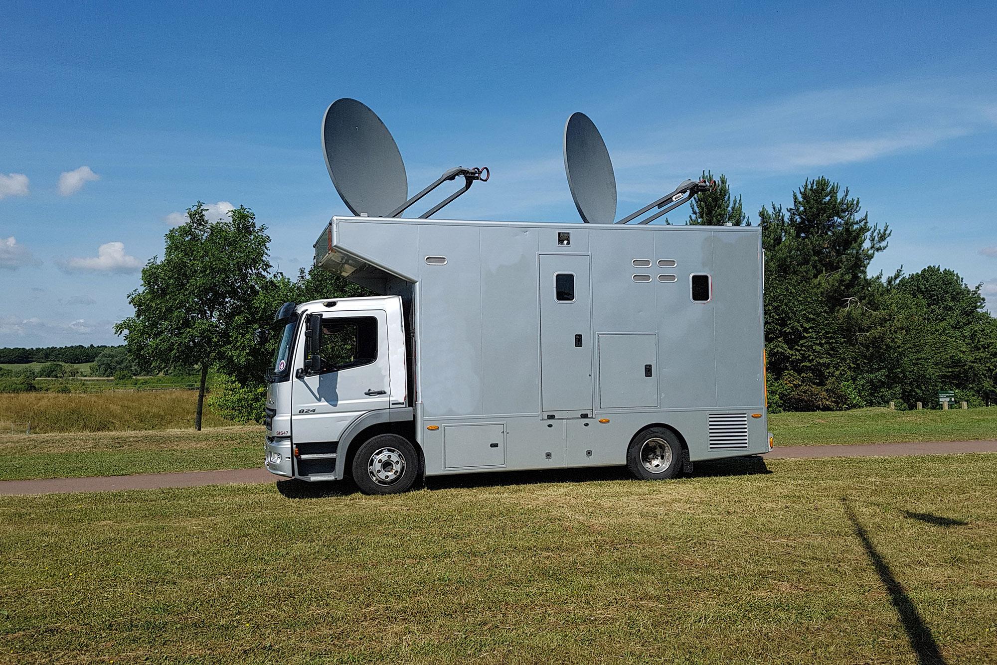 Satellite Uplink Services | NEP Connect