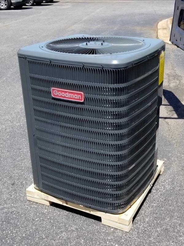 goodman heat pump unit