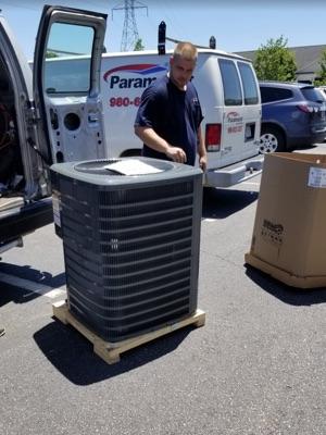 heat pump installation preparation