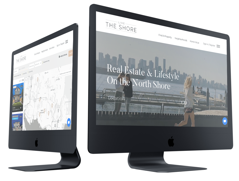 Real estate web development in Vancouver