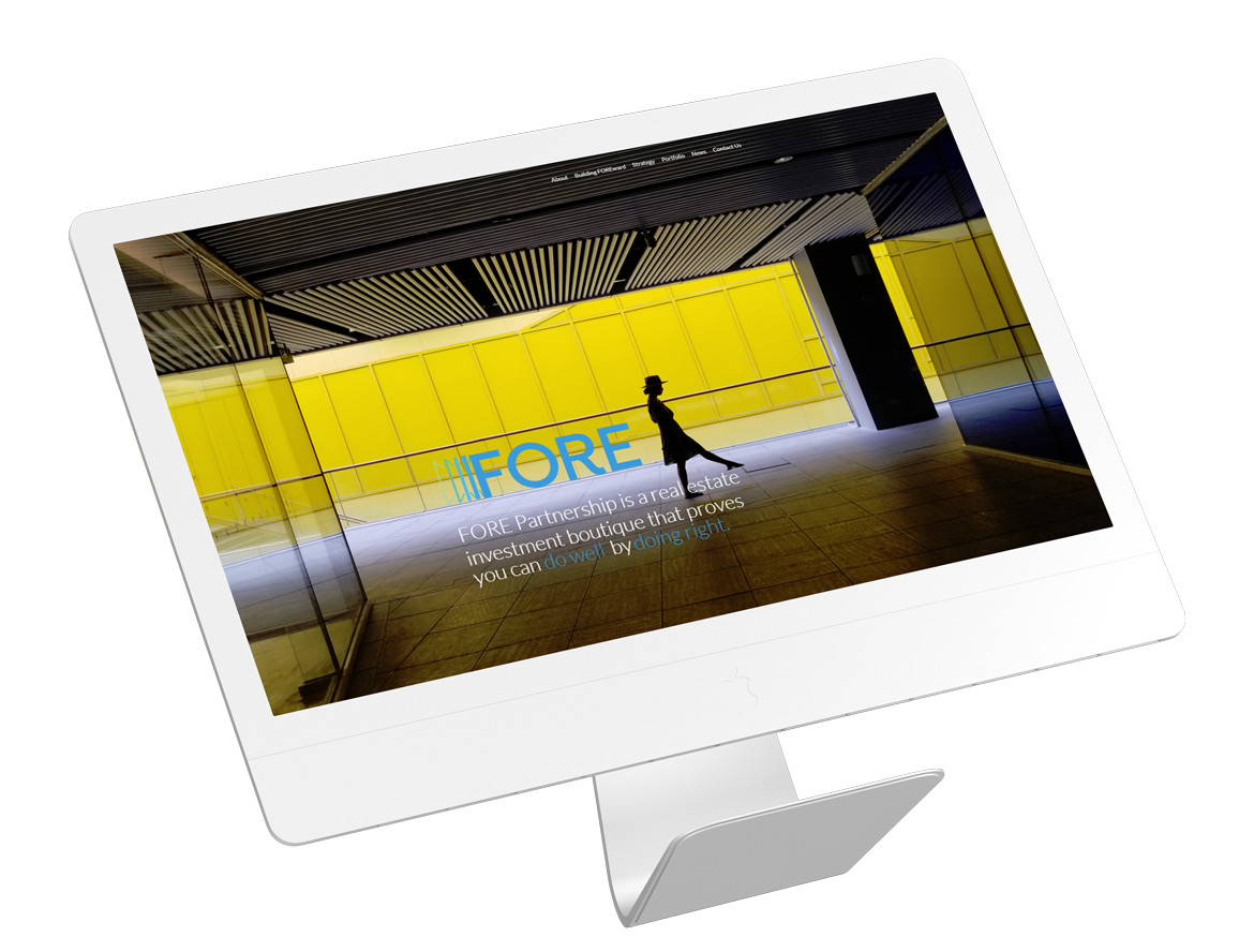 Investment company web design vancouver