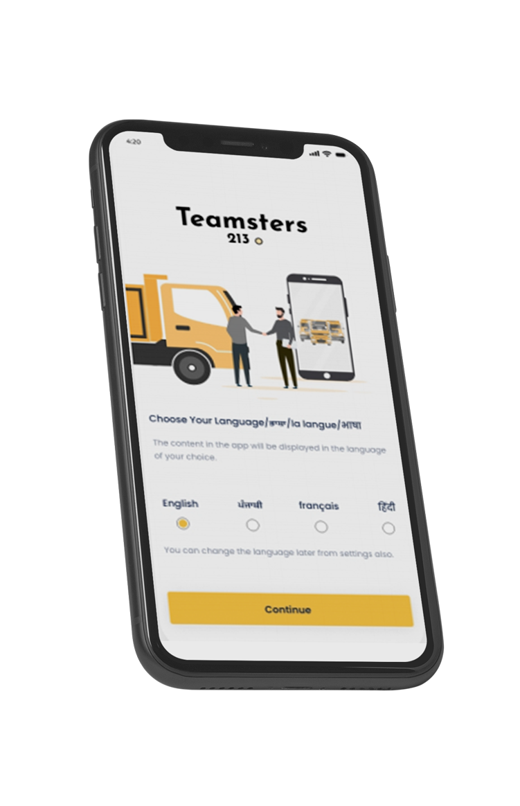 Teamsters iPhone 3