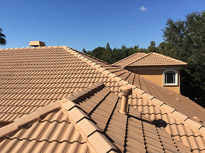 Soft roof washing in Tampa, FL