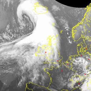 Satelitní snímky EU