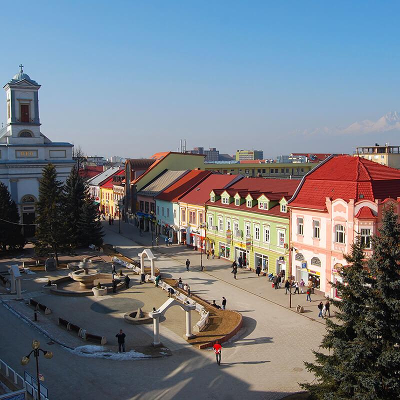 Slovensko - Poprad