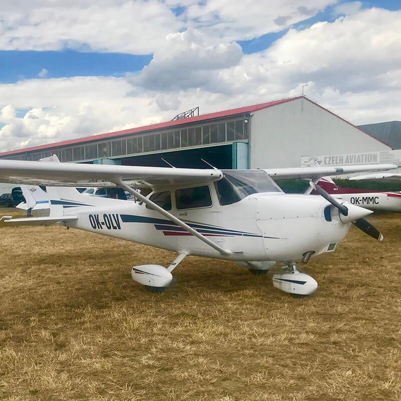Cessna 172SP OK-OLV