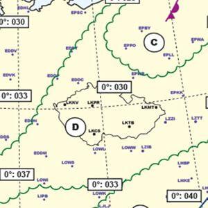 Mapa význačného počasí (SWL)