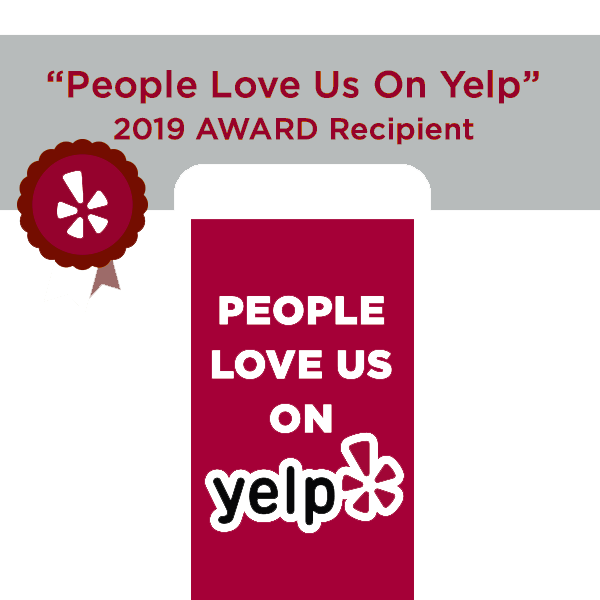 Catered By Design - Yelp 2019 Award link